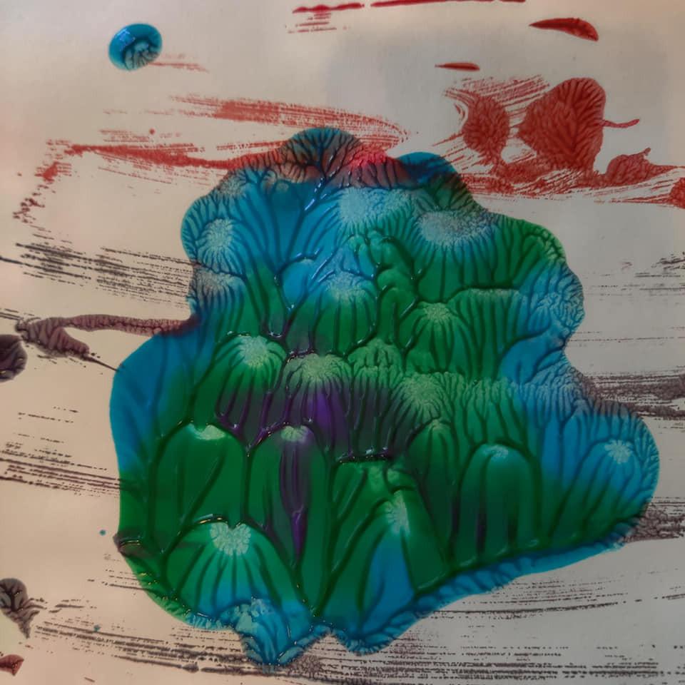 Cookie Sheet Print of an Island