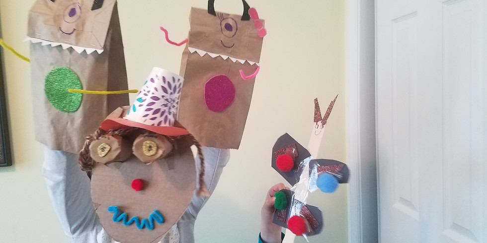 Fun Friday! Puppet Workshop (FREE)