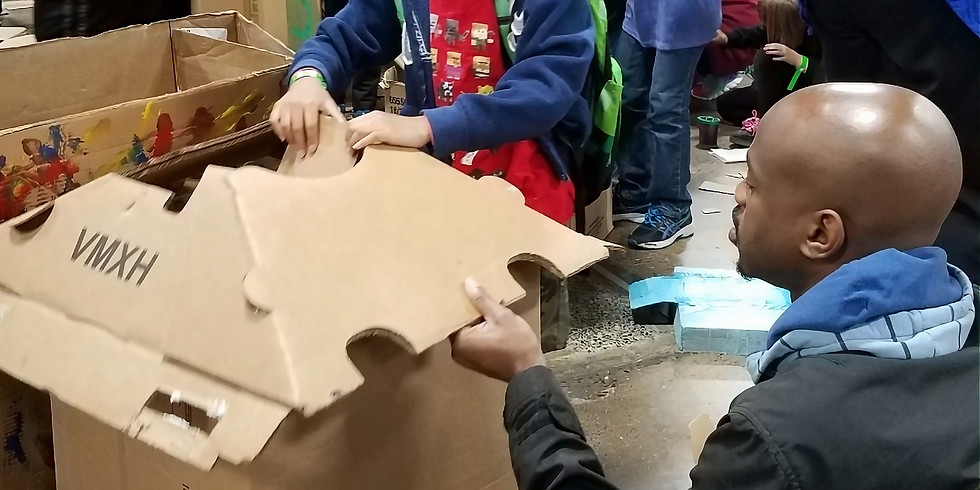 Where We Live Cardboard Build