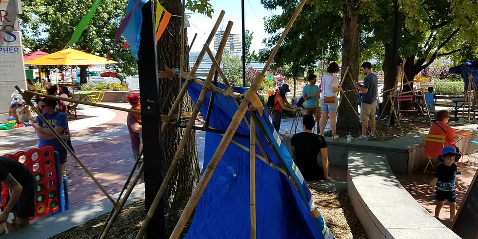 Fort Building: Sundays with PopUpPlay