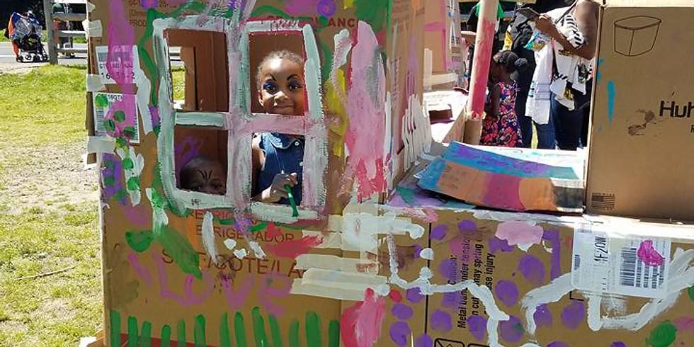Create 'your' Philadelphia: Cardboard City Build