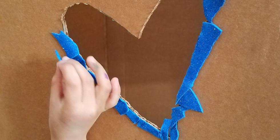 Create with Cardboard Happy Hour at Kith + Kin