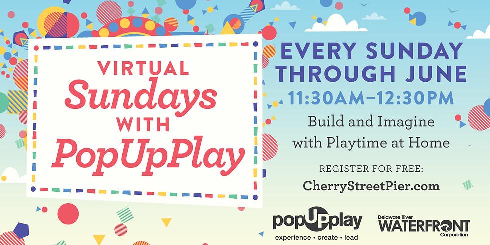 Beach Day: Virtual Sundays with PopUpPlay (FREE)