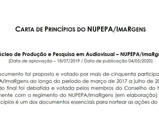 Publicada a Carta de Princípios do NUPEPA/ImaRgens
