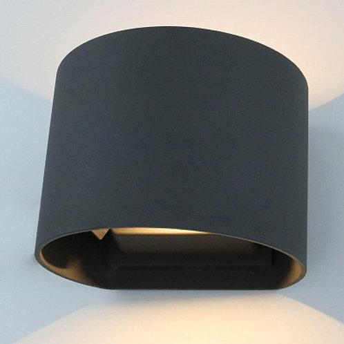 Уличный настенный светодиодный светильник Arte Lamp Rullo A1415AL-1GY