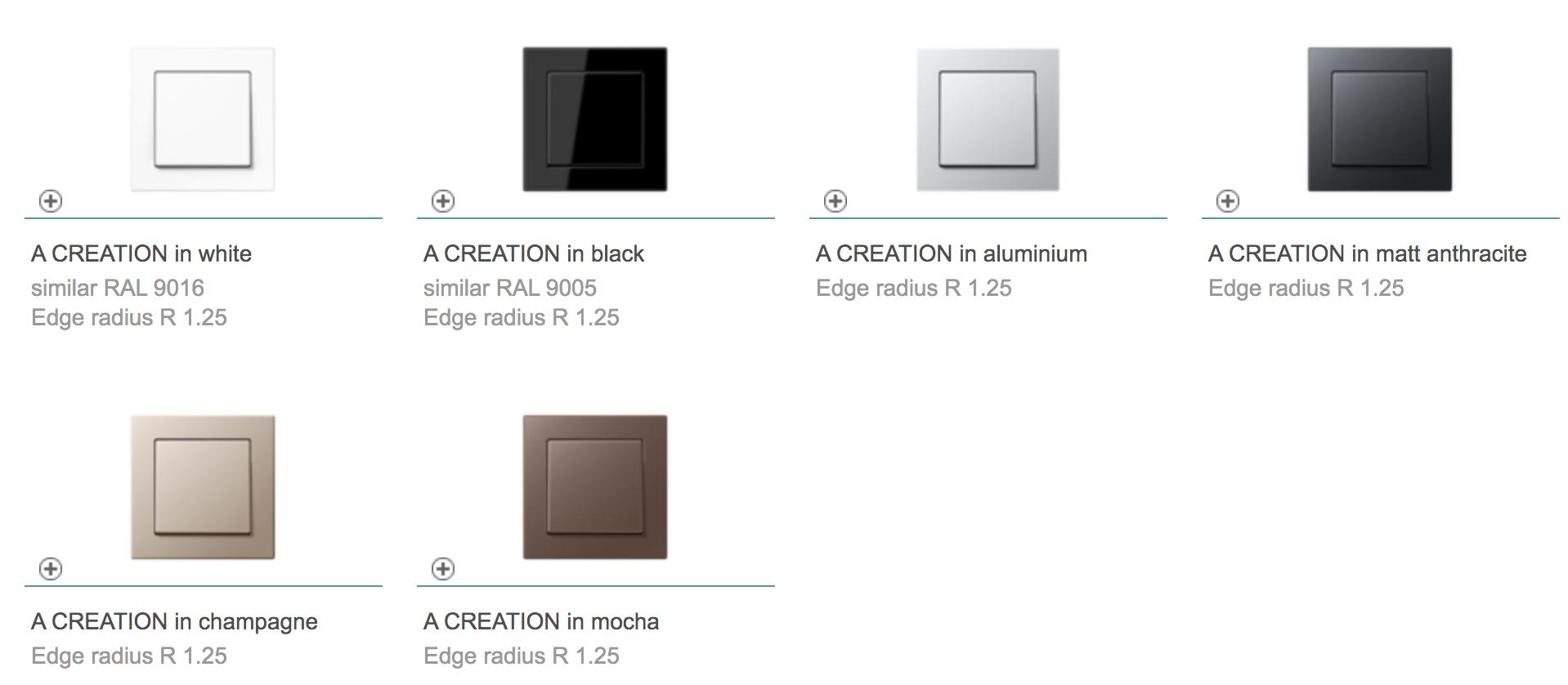 color A-creation