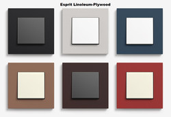 Gira Esprit Linoleum-Plywood