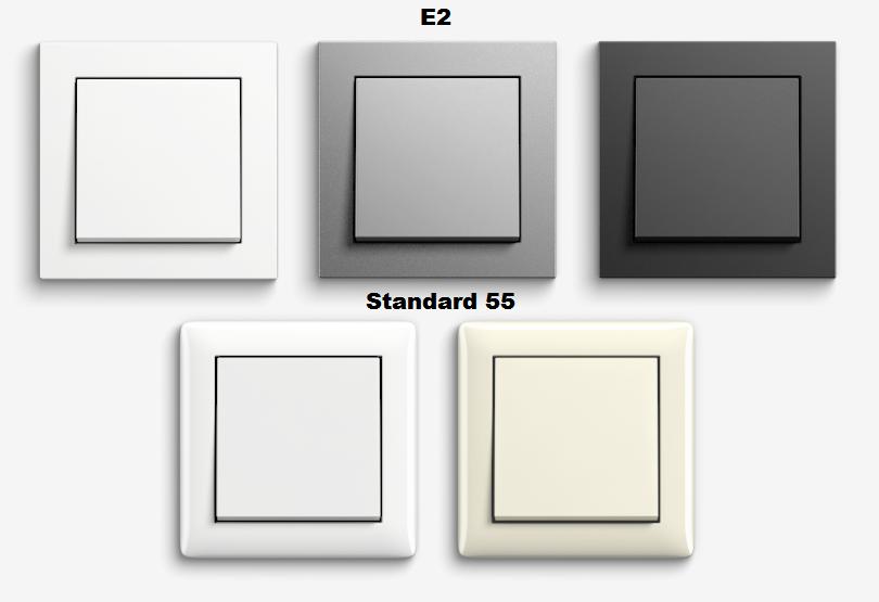 Gira E2 & Standard 55