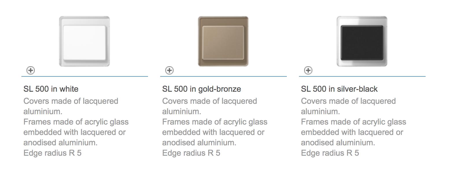 SL 500 color