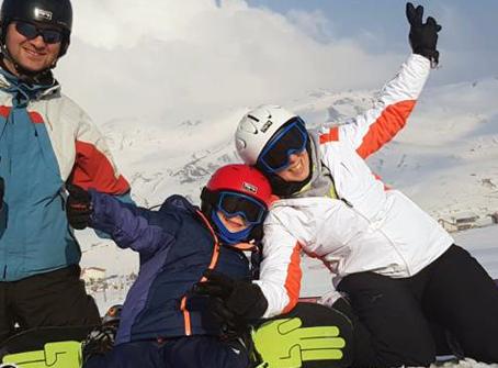 İlk Snowboard Deneyimimiz - 6 Yaş