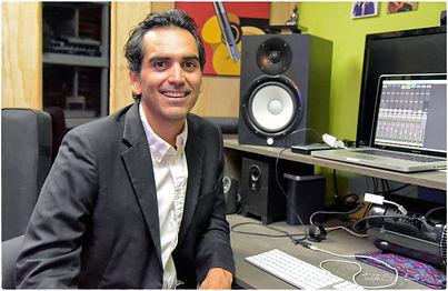 Rodolfo in the Recording Studio