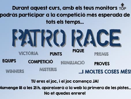 Primera pista de la Patro Race!