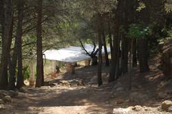 Exteriors del campament
