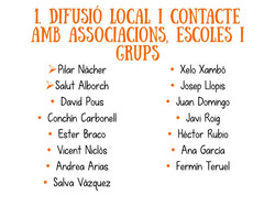 Difusió local i contacte