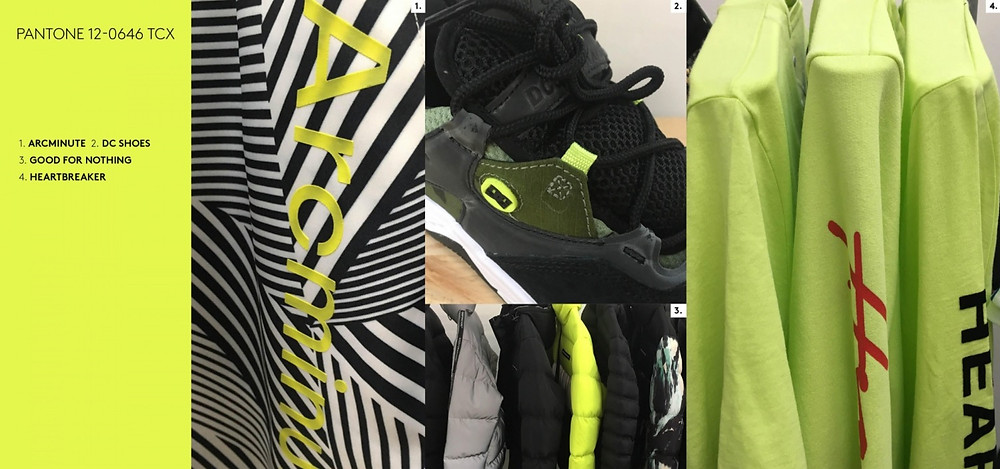 jacket required aw19/20 neon yellow colour arc minute