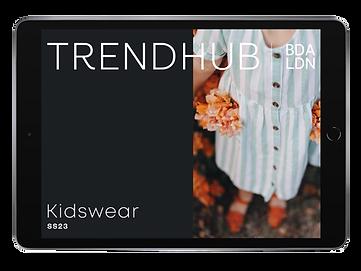 trendhub kidswear ss23 ipad