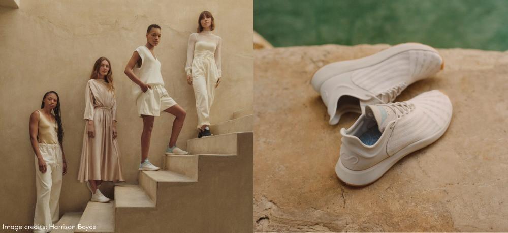 allyson felix footwear brand neutrals eco friendly sustainable