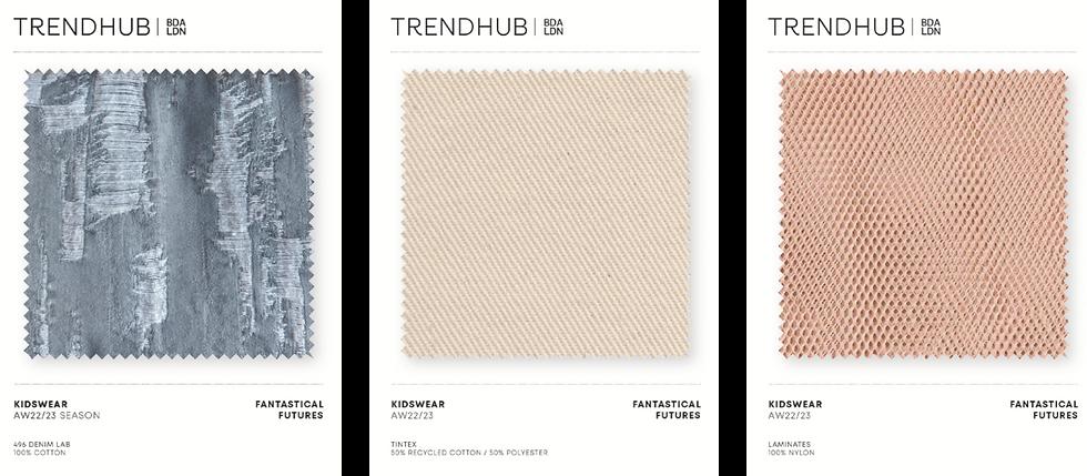 Trendhub Kidswear AW22/23 Fabric Pack