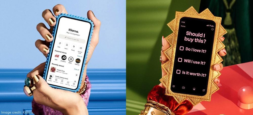 klarna iphone social shopping