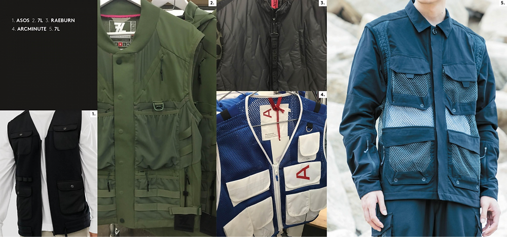 jacket required aw19/20 utility details nd pockets from Asos, 7L, Rayburn, arc minute