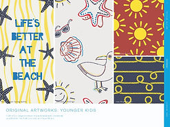 trendhub kidswear ss23 original kids artworks seaside