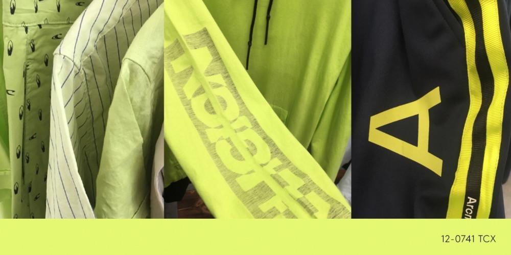 neon yellow colour
