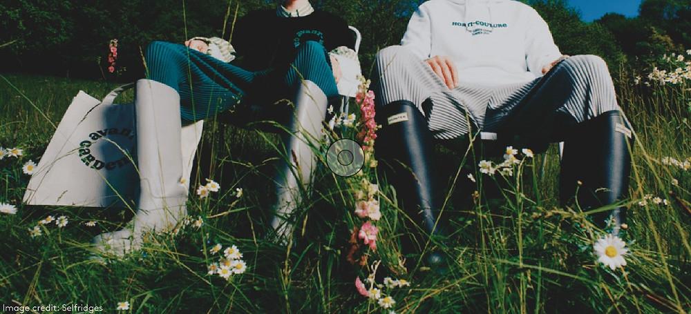selfridges garden centre outdoors hunter boots