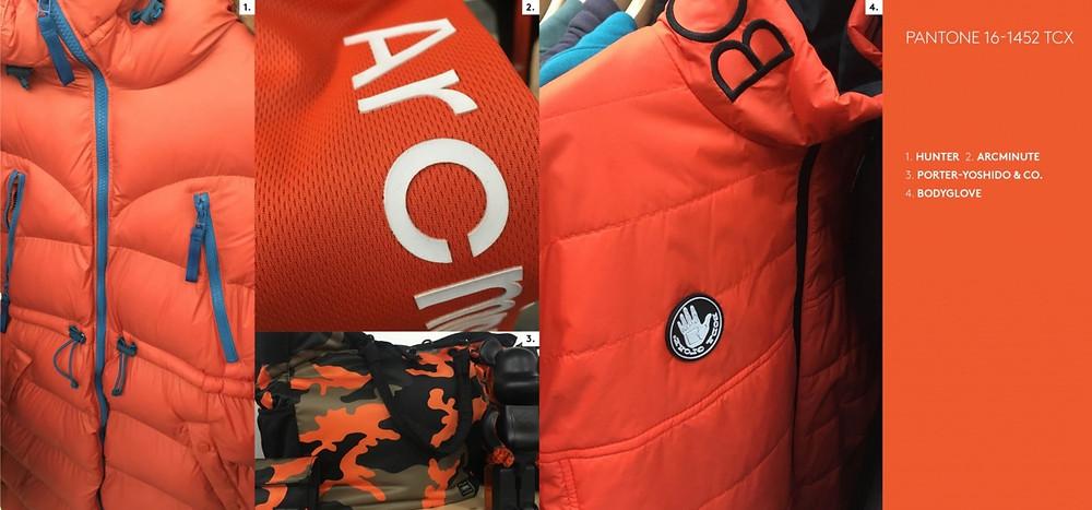 jacket required aw19/20 bright orange arc minute
