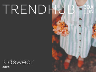 trendhub kidswear SS23 digital trendbook