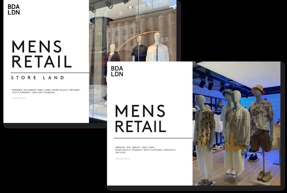 menswear retail reports