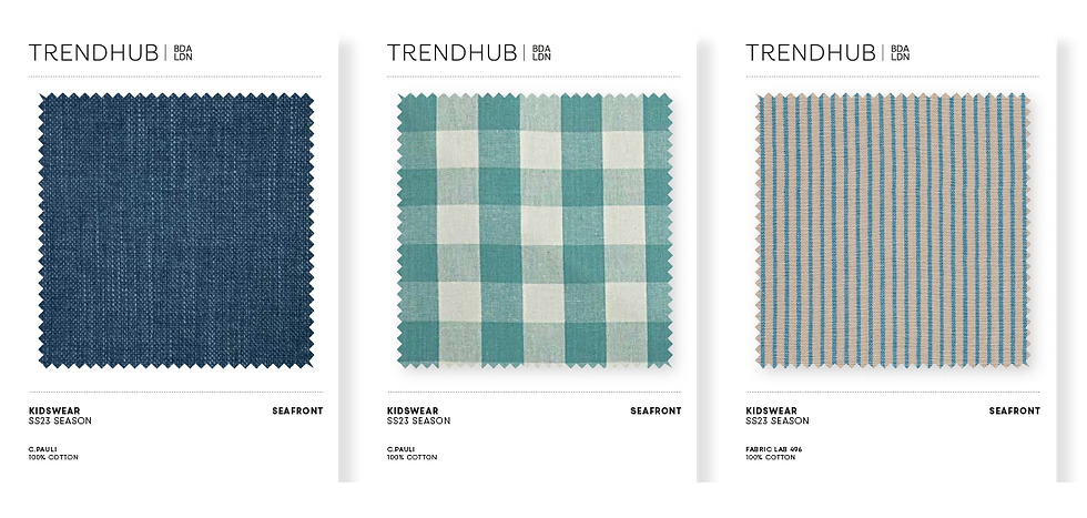 Trendhub Kidswear SS23 Fabric Pack