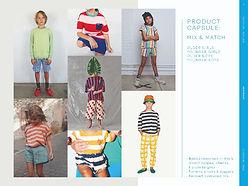 trendhub kidswear ss23 seaside product capsule