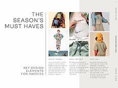 trendhub kidswear seasons must haves fashion forecast AW22/23