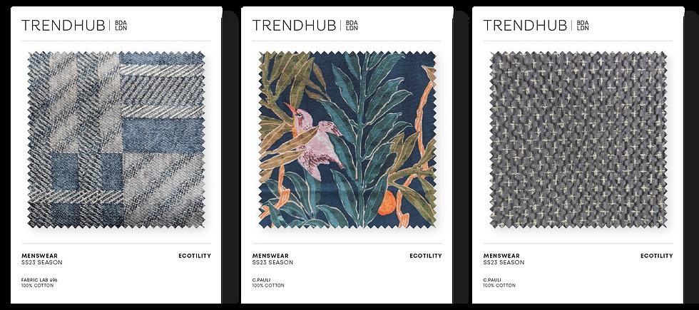 Trendhub Menswear SS23 Fabric Pack