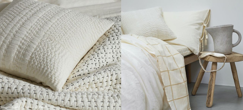 neutrals homeware macrame blanket and pillow