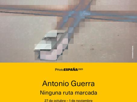 """Antonio Guerra, el 27 de Octubre inaugurá en la  Sala El Águila Madrid """"Ninguna ruta marcada"""""""