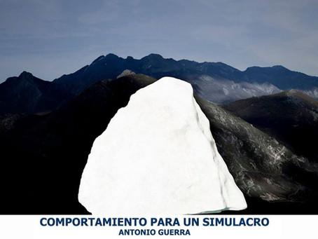 """Antonio Guerra  inaugura  """"Comportamiento para un simulacro"""" En Victoria-Gasteiz."""