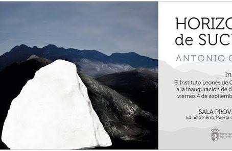 """El viernes 4 de septiembre inaugurá Antonio Guerra """"Horizonte de Sucesos"""" en el Centro Leonés"""