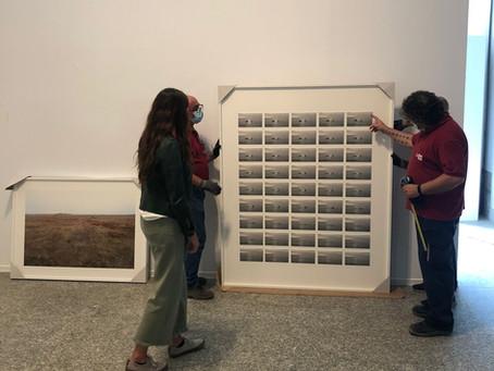 Eva Díez en los Premios Fundación ENAIRE dentro de PhotoEspaña