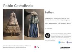 Tarjeta anuncio exposición de Pablo Castañeda definitiva