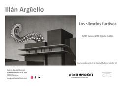Tarjeta de exposición  de Illán Argüello