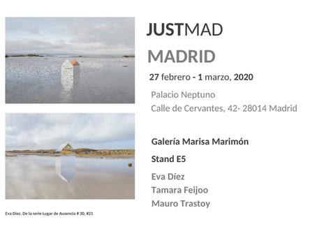 Eva Díez, ganadora de la tercera edición del Premio de Fotografía Joven Fundación ENAIRE en JUSTMAD