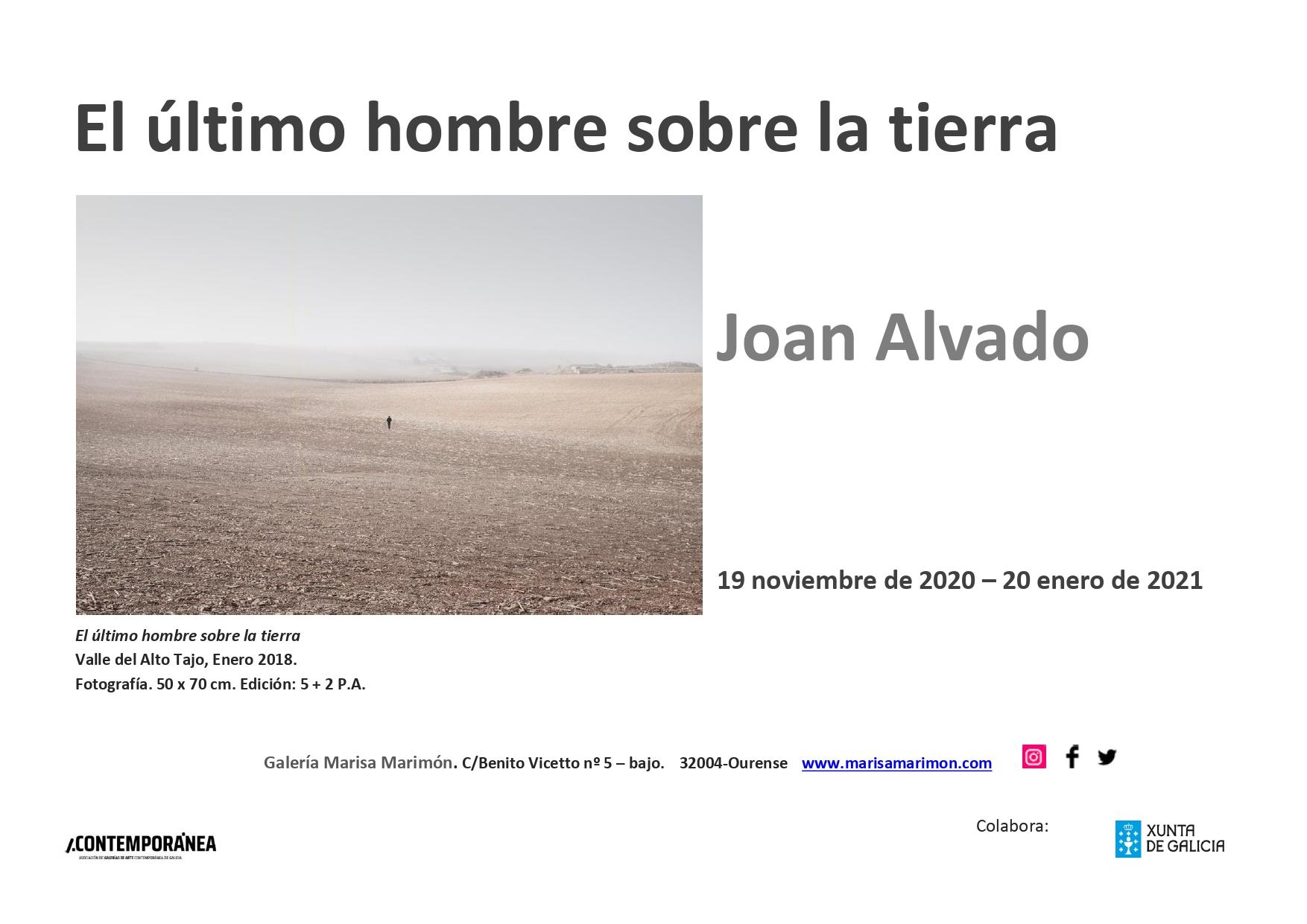 Invitación  Joan Alvado