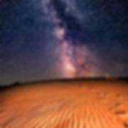 Une nuit sous les étoiles du désert de m