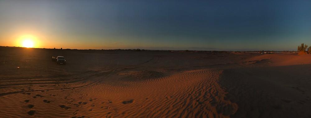 L'erg Chegaga est le plus majestueux massif dunaire dans le désert du Maroc
