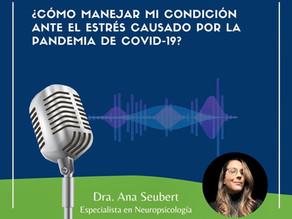 Dale play a tu tratamiento: Primer episodio con la Dra. Ana Seubert