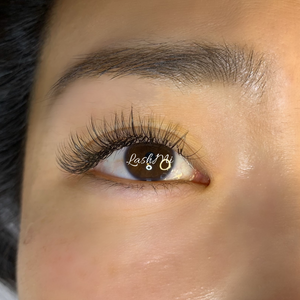 One of my last lash sets I did before I closed because of COVID-19