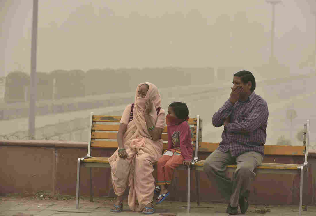 DELHI'S BAD AIR DAYS