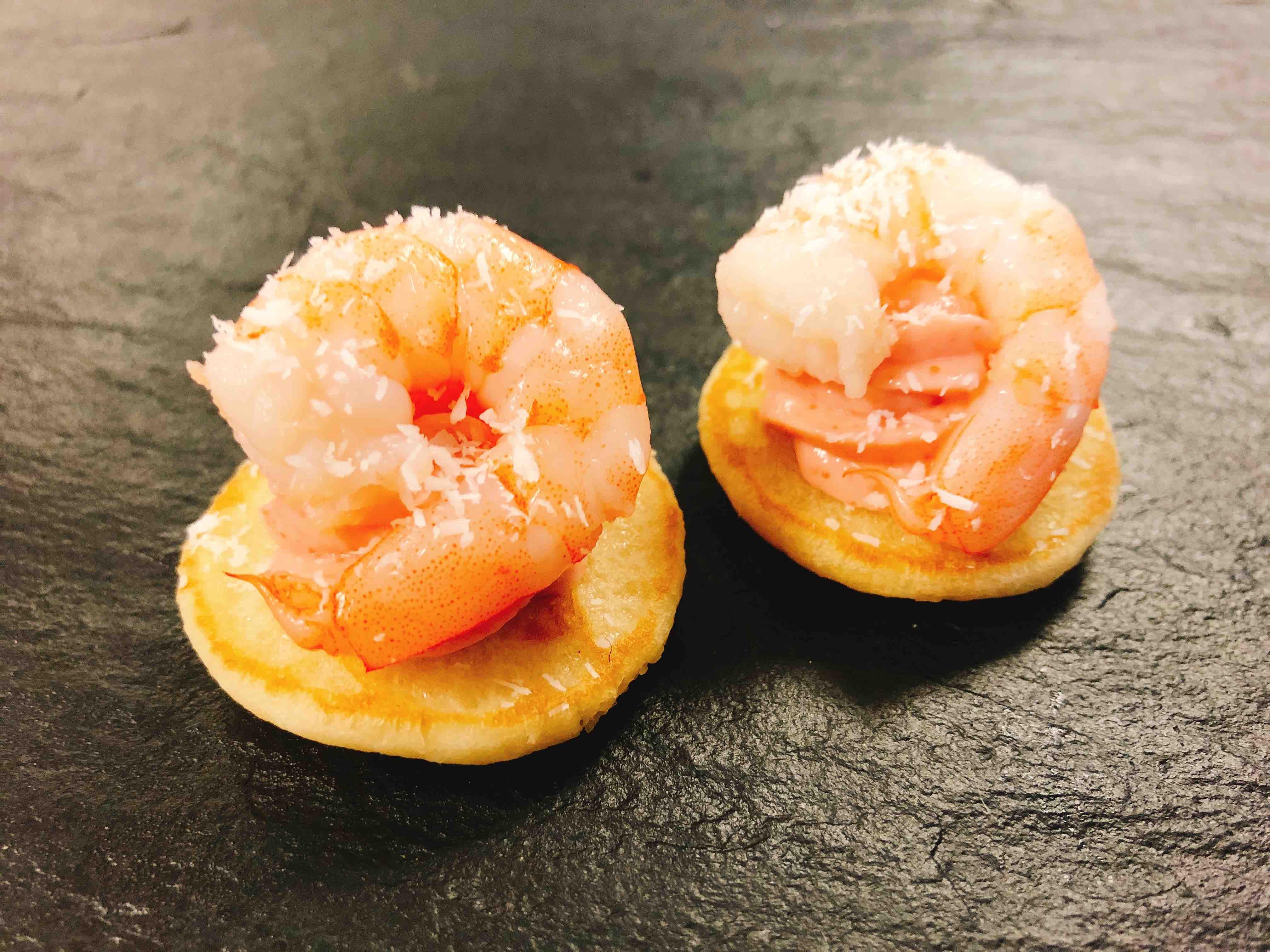 Blinis Crevette