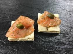 Le Saumon & Câpre